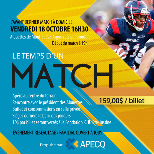 APECQ visits the Alouettes